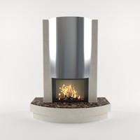 fireplace v-ray 3ds
