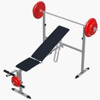 Gym Bench_001
