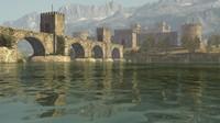 medieval castle 3d ma