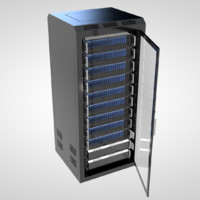 cinema4d server rack