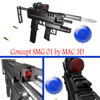 concept smg 3d max