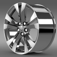 buick regal rim 3d 3ds