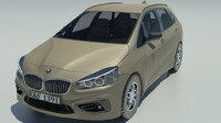 3d bmw 2-series active model