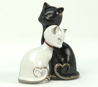 cat statuette 3d model