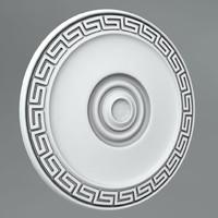 3d model classical decoration ornamental