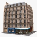 Commercial Building 3D models