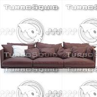 sofa arflex 3d max