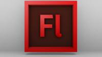 flash cs6 logo 3d model