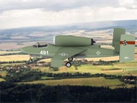 3d fighter jets heinkel 162