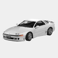 1991 mitsubishi 3000gt 3d model