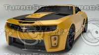 3d car tribute bumble model