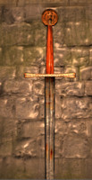 historically accurate long sword obj free