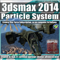 3ds max 2014 Particle System e Particle Flow Subscription