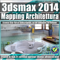3ds max 2014 Mapping Architettura vol.33 Subscription