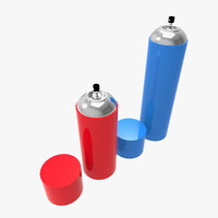 3d spray cans