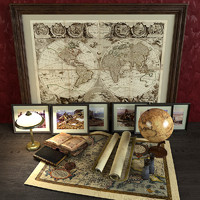 Decorative set of traveler