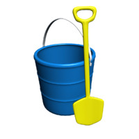 beach bucket shovel max