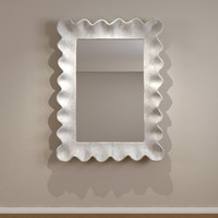 maya contemporary mirror wall