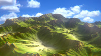 3ds max mountain terrain