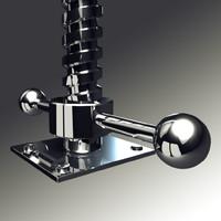 screw square thread obj