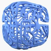 3d complex shape model