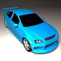 3d holden commodore