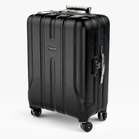 big travel suitcase case 3d fbx