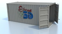Shipping Container HD