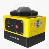 3d model kodak pixpro pro