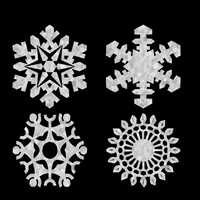 3ds snowflakes snow flakes