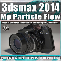 3ds max 2014 MP Particle Flow Subscription