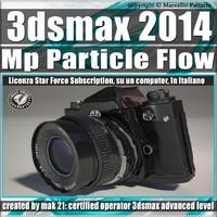 3ds max 2014 MP Particle Flow Subscription