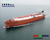 max lng tanker real-time