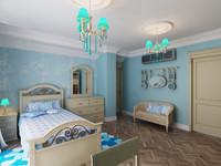 interior girl's bedroom