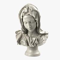 Pieta Bust Michelangelo