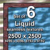 Liquid 6x Seamless Textures