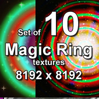 Magic Ring 10x Textures, set #1