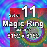 Magic Ring 11x Textures, set #2