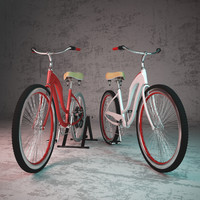 3d model bicycle dynamo
