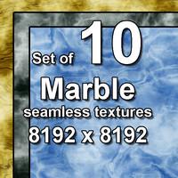 Marble 10x Seamless Textures, set #2