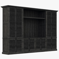 3d model of restoration hardware shutter