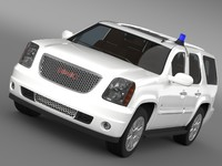 3ds max gmc denali fbi