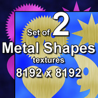 Metal Shapes 2x Textures