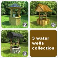 3d max 3 water wells