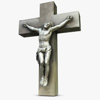 3d model of cross jesus