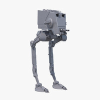 at-st walker 3d max