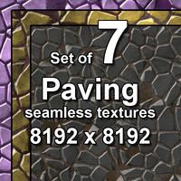 Paving 7x Seamless Textures