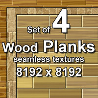 Wood Planks 4x Seamless Textures