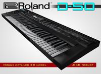 roland d-50 c4d