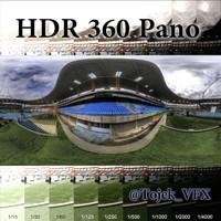 HDR 360 Pano Stadium01 Engenhão